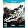Sniper Elite V2 Nintendo Wii U Nuevo Y Sellado Videojuego