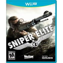 Sniper Elite V2 Para Nintendo Wii U Nuevo Y Sellado