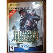 Medal Of Honor Frontline Para Xbox - Platinum Hits