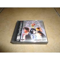 Final Fantasy Viii 8 Playstation Negro + Completo +++