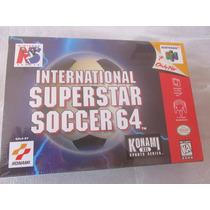 International Super Star Soccer 64 Nintendo Nuevo Y Sellado