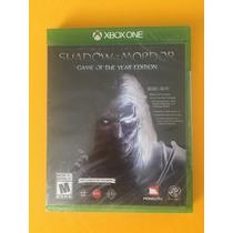 Sadow Of Mordor Game Of The Year Xbox One Nuevo Sellado