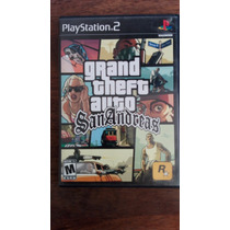 Grand Theft Auto Sanandreas Para Playstation 2