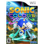 Sonic Colors Wii Nuevo Blakhelmet Sp