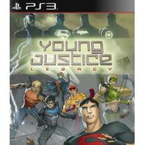 Young Justice Legacy Ps3 Nuevo Sellado Disco Fisico