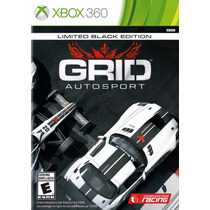 Grid Autosport Limited Black Edition Nuevo Sellado Xbox 360