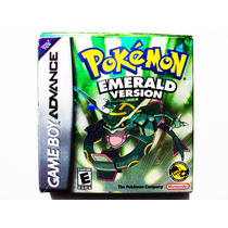 Pokemon Emerald Completo + 386 Pokes Shinys Nintendo Gba