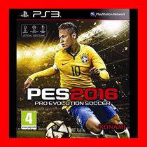 Pes 2016 Ps3 Pro Evolution Soccer 2016 Ps3 + Pase En Linea