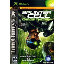 Splinter Cell Chaos Theory Xbox Usado Blakhelmet R E