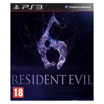 Resident Evil 6 Ps3 Videojuego En Caja Sellado Nuevo