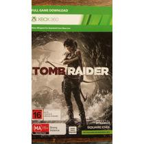 Tom Raider Juego Descargable Xbox 360 Completo