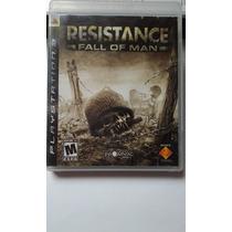 Ps3 Resistance Fall Of Man $250 Pesos - Seminuevo - V / C