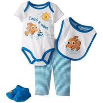 Disney Baby-chicos Nemo Boys 4 Piece Set