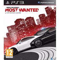 Need For Speed Most Wanted Ps3 Juego Original Zona Games ;)