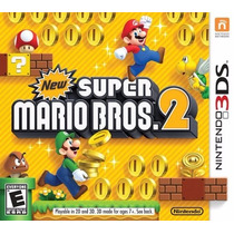New Super Mario Bros 2 - Nintendo 3ds, 2ds, New 3ds Fgk Msi