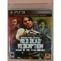 Red Dead Redemption Game Of The Year Edition - Ps3 - Game F