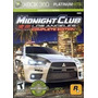 Midnight Club Los Angeles Complete Nuevo Sellado Xbox 360