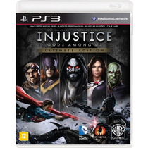 Injustice God Among Us Ultimate Edition Para Ps3.