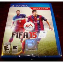 Videojuego Fifa 15 Legacy Edition Ps Vita Nuevo Sellado