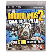 Borderlands 2 Game Of The Year Primera Edicion Ps3 Nuevo