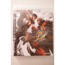 Ps3 Playstation Street Fighter Iv Accion Pelea Anime