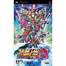 Super Robot Wars A Portable Psp Japones