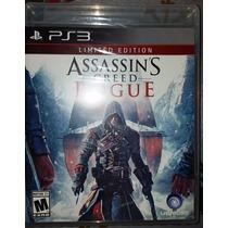 Assassins Creed Rogue Limited Edition Ps3 Sellado