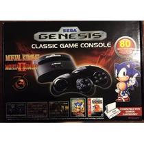 Sega Genesis 2015, 80 Juegos Incluidos, Mortal Kombat 1-2-3.