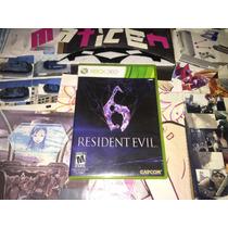 Resident Evil 6 Xbox360 . Venta O Cambio ;)