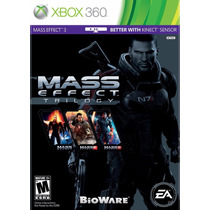 Mass Effect Trilogy - Xbox 360 (físico) Fgk