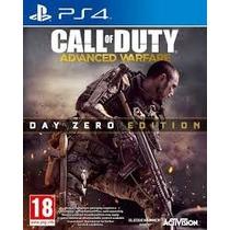 Call Of Duty Advanced Warfare Nuevo, Day Cero Edition Ps4