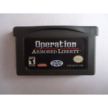 Operation Armored Liberty Para Gameboy Advance Gba Buen Edo