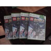 Remate Lego Batman 3, Xbox 360, Nuevo, Sellado.