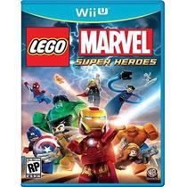 Lego Marvel Super Heroes Para Nintendo Wii U Nuevo Y Sellado