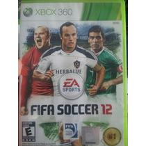 Juego Xbox 360-fifa Soccer12