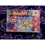 Super Smash Bros Caja E Instructivo De Nintendo 64