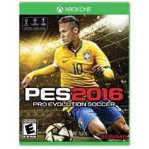 ..:: Pro Evolution Soccer 2016 ::.. Xone En Start Games