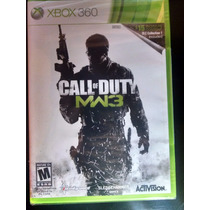 Call Of Duty Modern Warfare 3 + Dlc Xbox 360 Pago Contra Ent