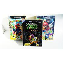Protectores Cristalinos De Pet Para Ngc - Zelda Four Sword