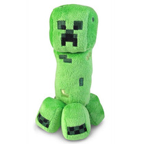 Peluche Minecraft Creeper 18cm