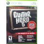 Guitar Hero 5 Xbox 360 Excelente Condiciones
