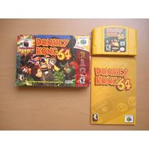 Donkey Kong 64 Completo Nintendo 64 +++++