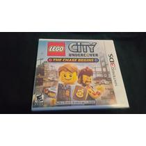 Lego City Undercober 3ds Nuevo . Cambios Gamer..