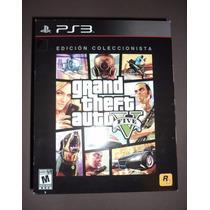 Grand Theft Auto V-5 Edicion De Coleccion Ps3 Nuevo Y Sellad