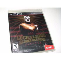 Lucha Libre Aaa Heroes Del Ringn Ps3 Videojuego