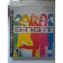 Ps3 Disney Sing It $250 Pesos - Nuevo - Vendo O Cambio