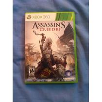 Assassins 3 Xbox 360