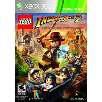 Lego - Indiana Jones 2: The Adventure Continu Xbox 360 Nuevo