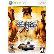 Xbox 360 Saints Row 2 (acepto Mercado Pago Y Oxxo)