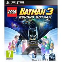 Lego Batman 3 Mas Alla De Gotham Ps3 Bestgames